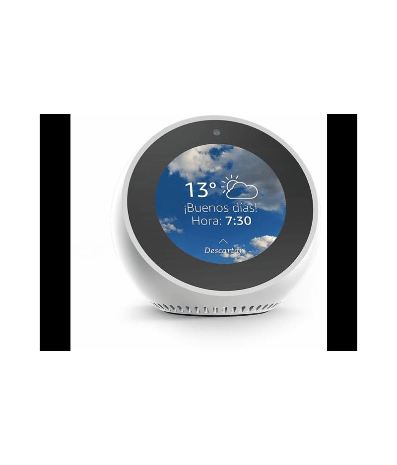 Amazon Echo Spot - Reloj despertador inteligente con Alexa